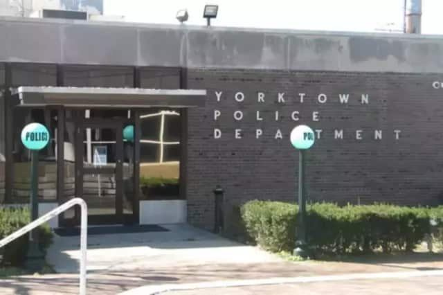 Yorktown Police arrested and charged a man for allegedly smashing a vehicle window with a hammer.