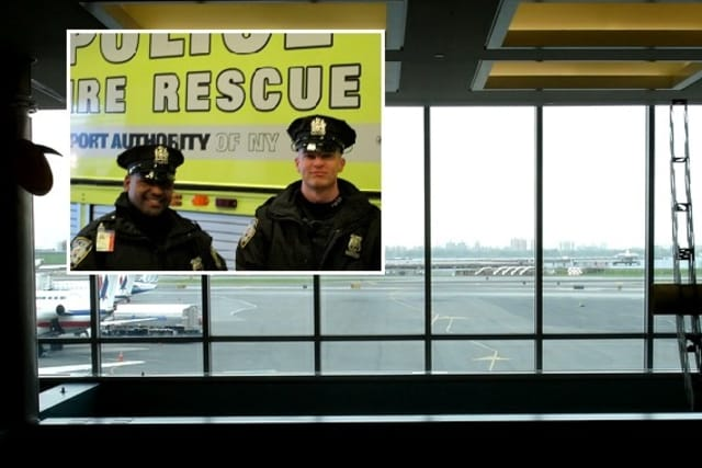 Port Authority police rookies, one month out of academy