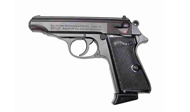 A Walther 7.65mm like the one found by Clifton police.