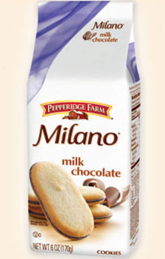 The Milano is a popular cookie made by Pepperidge Farm, based in Norwalk.