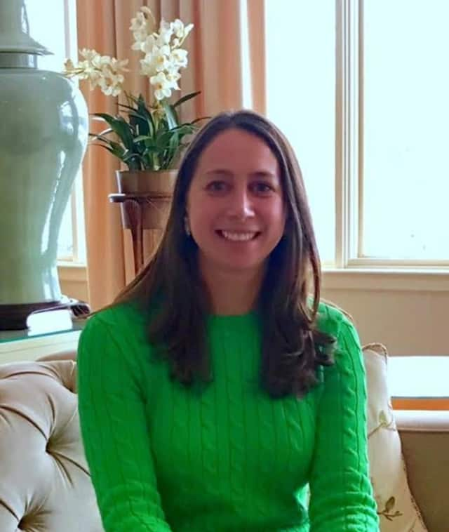 New Canaan mom Allyson Mahoney started her own speech therapy practice.