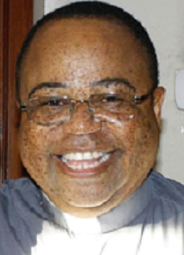 The Rev. Honore Kombo, a Weston resident, has been charged with larceny in connection with an embezzlement cast at the Seymour church he served.