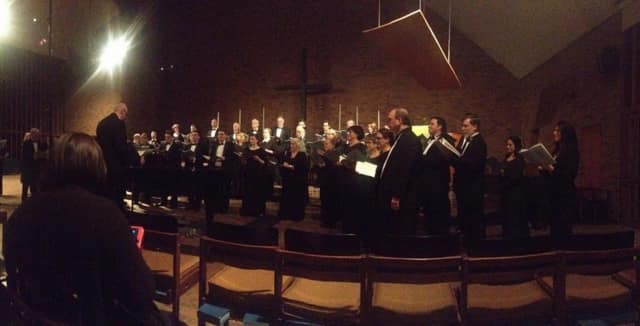 """The Stamford Symphony and Pro Arte Singers will perform """"Messiah"""" Saturday at Basilica of St John the Evangelist in Stamford."""