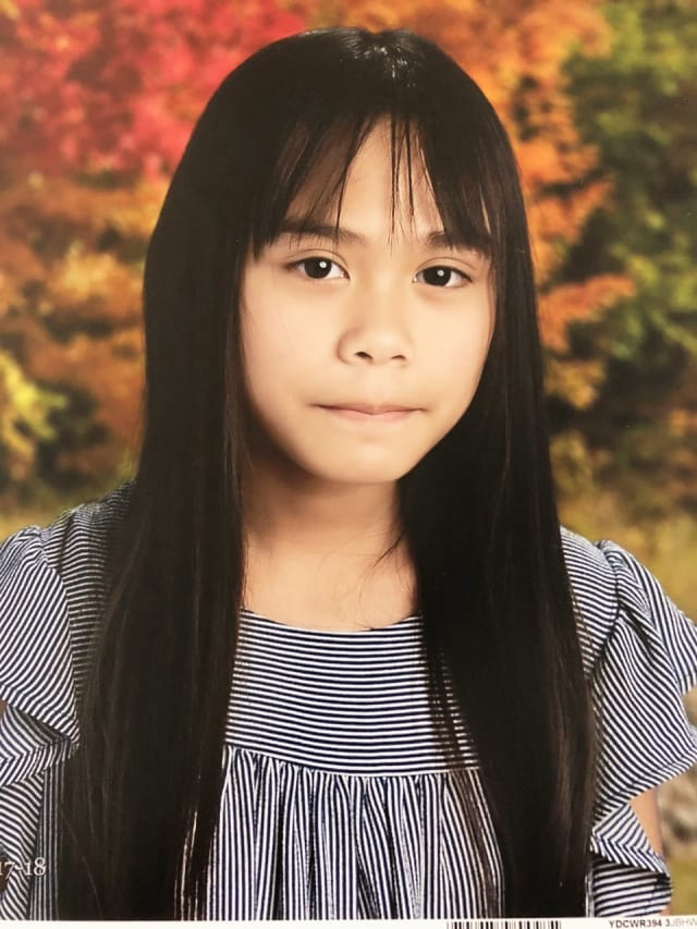 East Brook Middle School student Gabrielle Rula sustained head trauma and a collapsed lung following this month's deadly school bus crash.