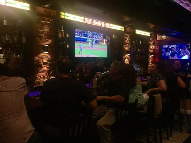 The Irish Bank is a local favorite for drinks in Scarsdale.