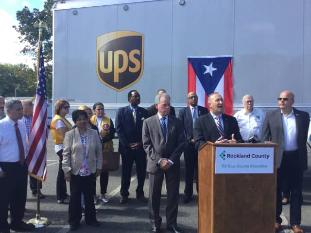 Rockland County announced its plans to help Puerto Rico