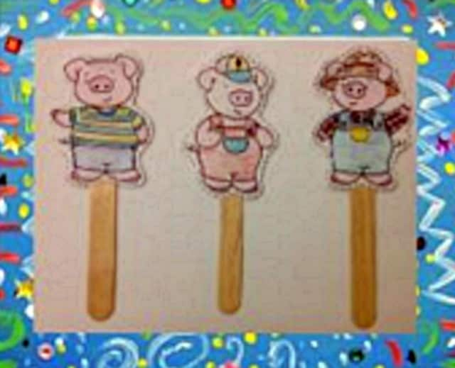 Children are invited to make their own puppets at a Monroe library event.