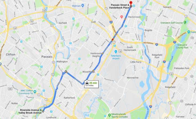 Overnight Clifton Stolen Car Chase Begins In Lyndhurst, Ends