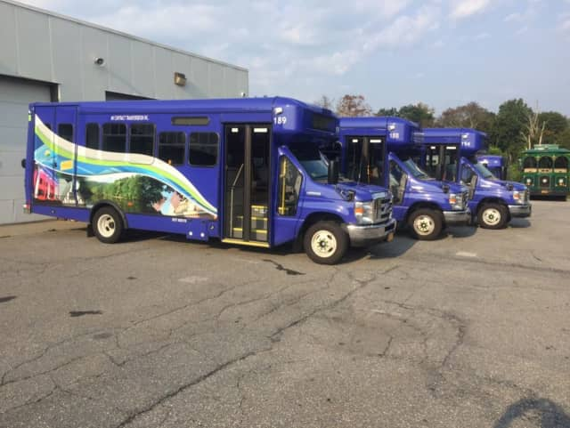 Putnam County has deployed eight new buses.
