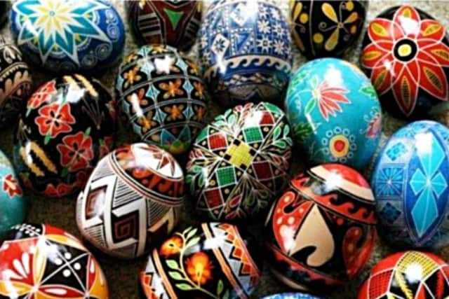 The Holy Apostles Church is offering a free pysanky class on April 1.