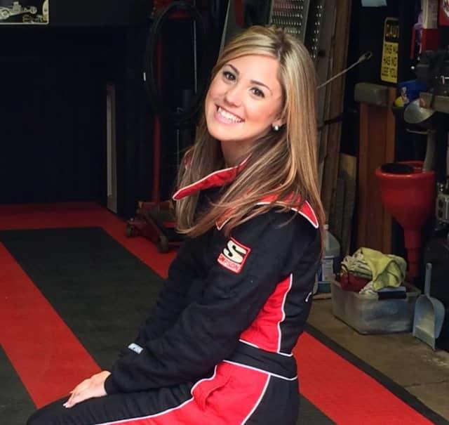 Race car driver Sarah Edwards