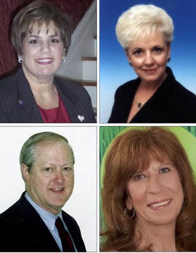 Better Homes & Gardens Randy Realty agents (top left to right) Renee Zurlo and Maryann Tercasio and (bottom, left to right) Michael Graessle and Laurie DiFrancesco recently won awards.