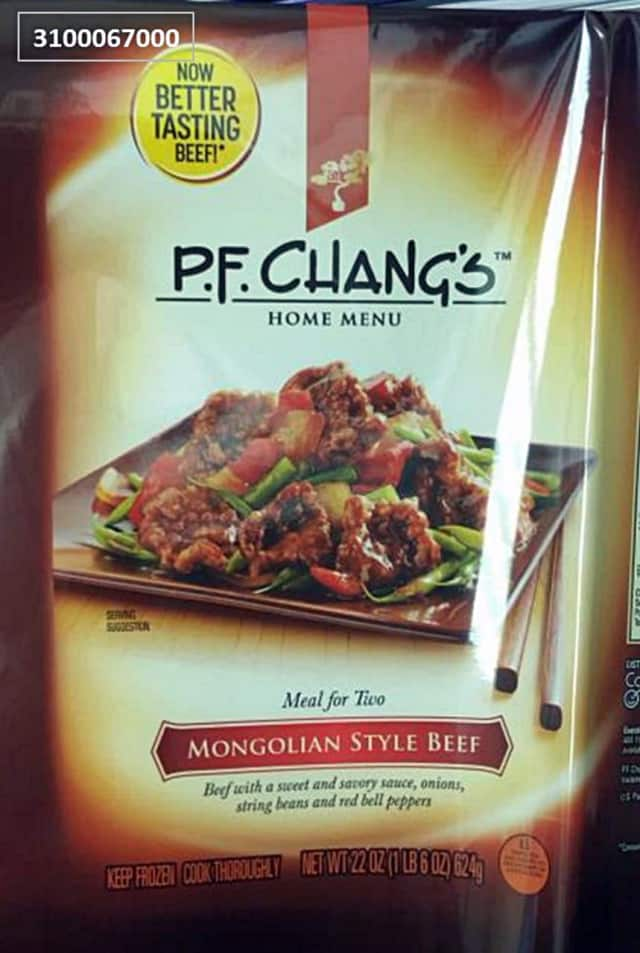 Conagra has expanded its recall of P.F. Chang's frozen meals.