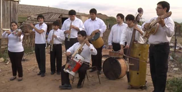 """The Recycled Orchestra of Cateura, Paraguay, is the topic of Susan Hood's book, """"Ada's Violin: The Story of the Recycled Orchestra of Paraguay."""""""