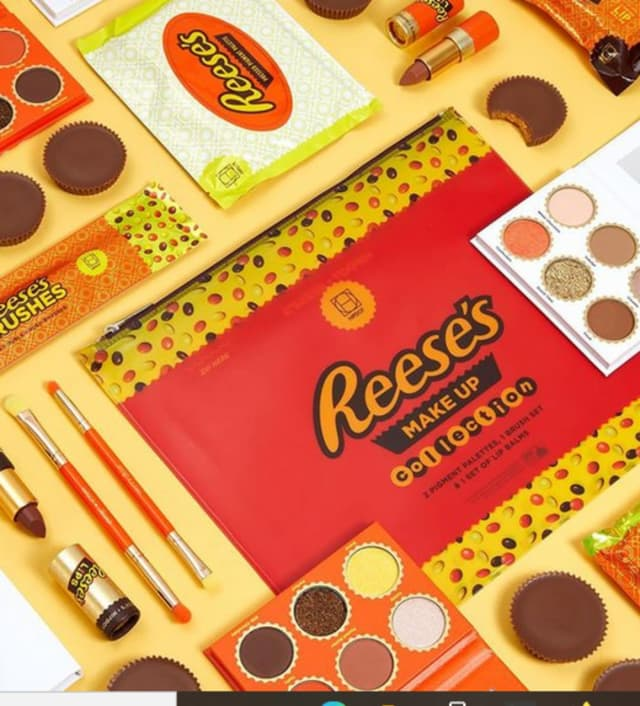 Reese's makeup collection.