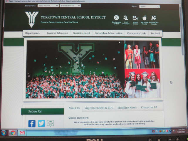 The Yorktown Central School District now sports a refreshed website.