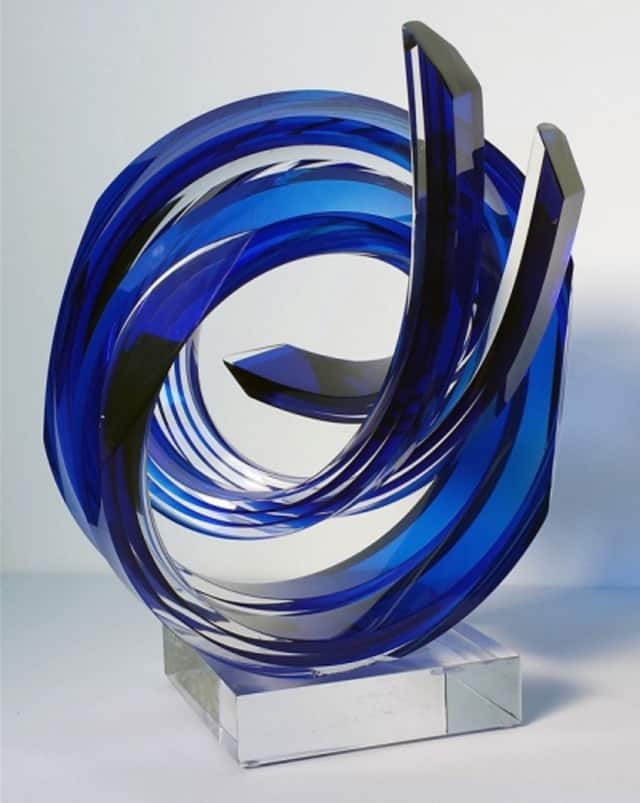 Swirling art glass by Will Grant will be available at the Rhinebeck Arts Festival Saturday, June 25 and Sunday, June 26 in Rhinebeck, N.Y.