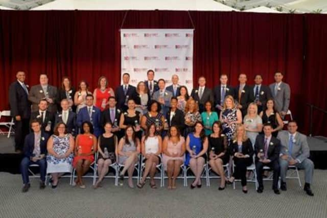 """The Business Council of Westchester honored """"Rising Stars"""" at the Atrium in Rye Brook."""