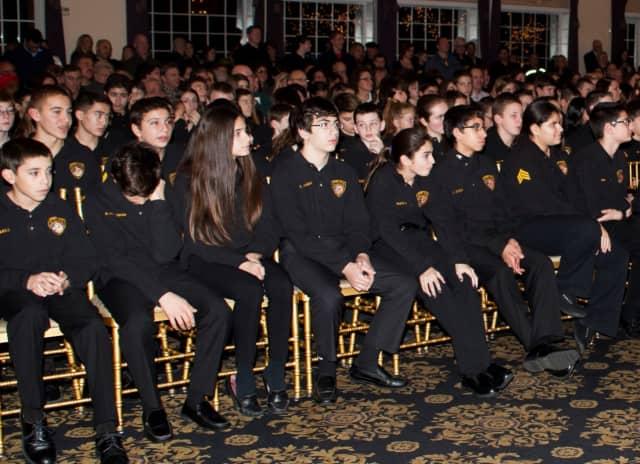 Last year's River Vale Junior Police Academy graduates.