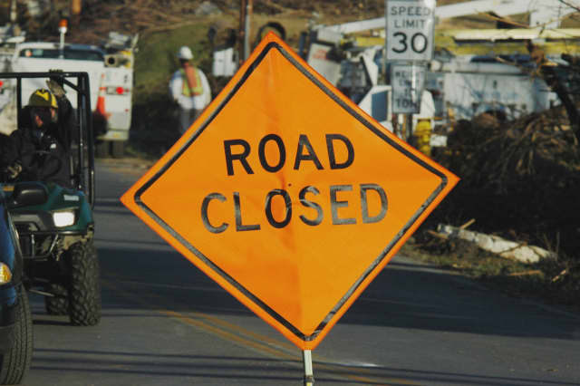 Sticks Road/Route 216 at Narrow Gauge Road will be closed starting Monday, April 11.