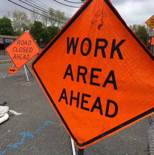Plan alternate routes during ramp closures on Garden State Parkway.