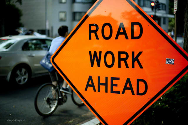 Road work in Bedford is expected to delay area traffic for about one month, according to police.