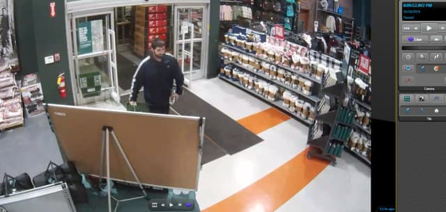 Know Him? Norwalk Police are asking for help identifying the man pictured in connection with a robbery.