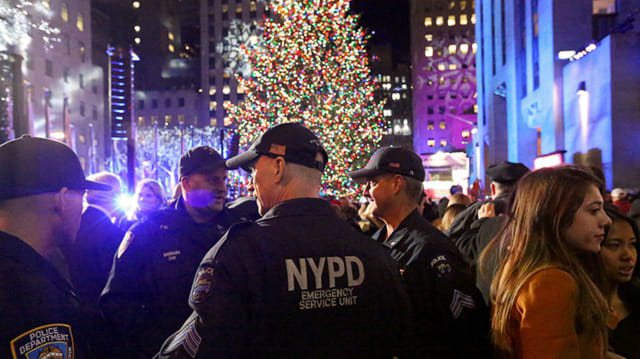 Security will be tight during the lighting of the Rockefeller Center Christmas tree that came from the Hudson Valley.