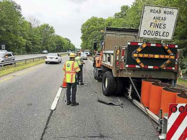 The state DOT will be milling Route 39 in New Fairfield this week