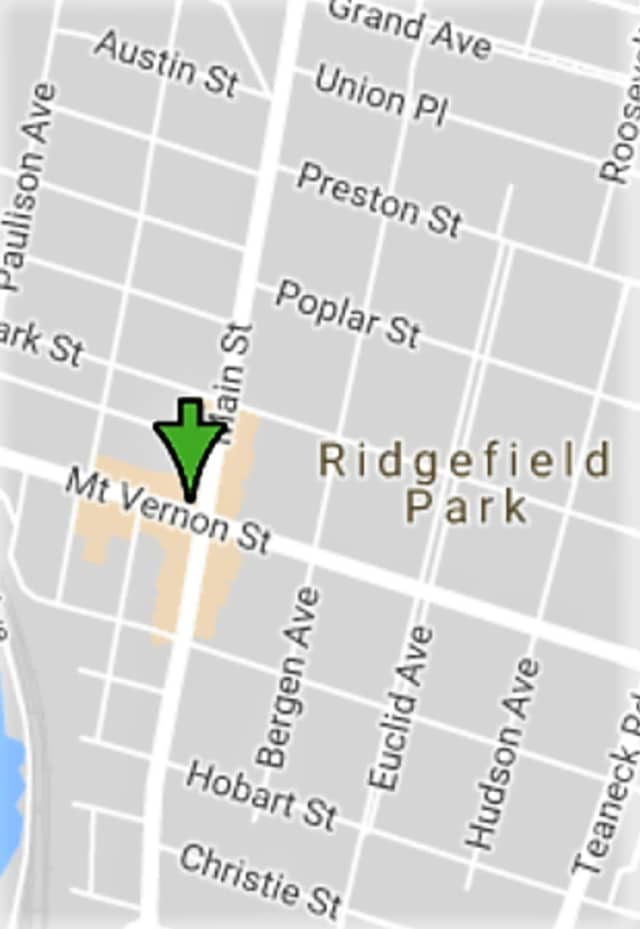 The victim was struck in the 200 block of Main Street in Ridgefield Park, responders said.