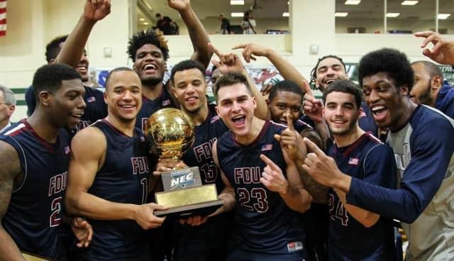 Fairleigh Dickinson University men's basketball team won the Northeastern Conference on Tuesday.