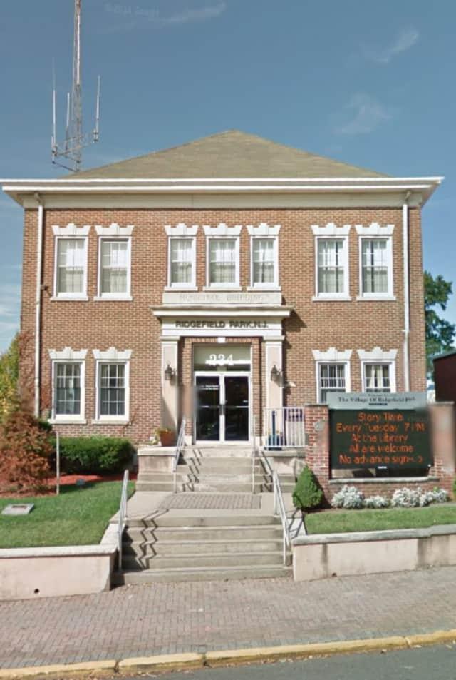 Ridgefield Park Municipal Building at Main and Park.