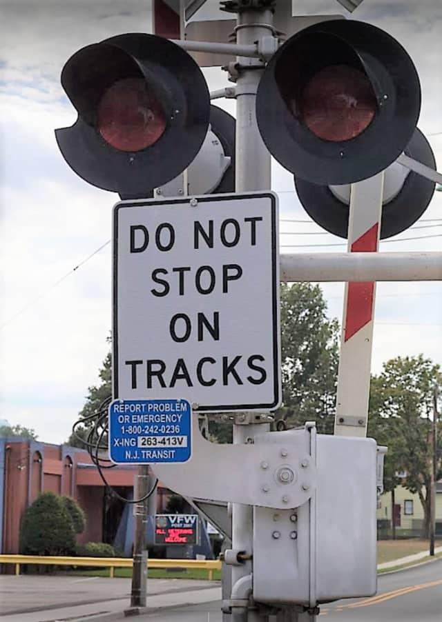 NJ Transit tracks