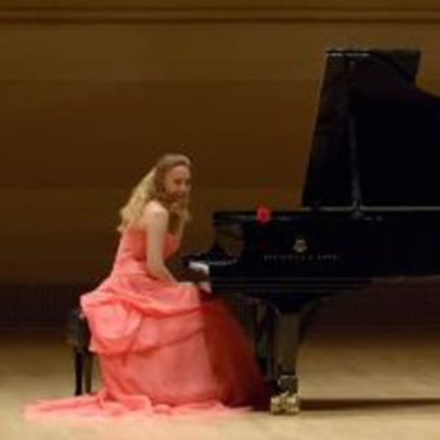 Katya Grineva, international award-winning, Russian-born classical pianist, will perform for the Tuckahoe School Community.