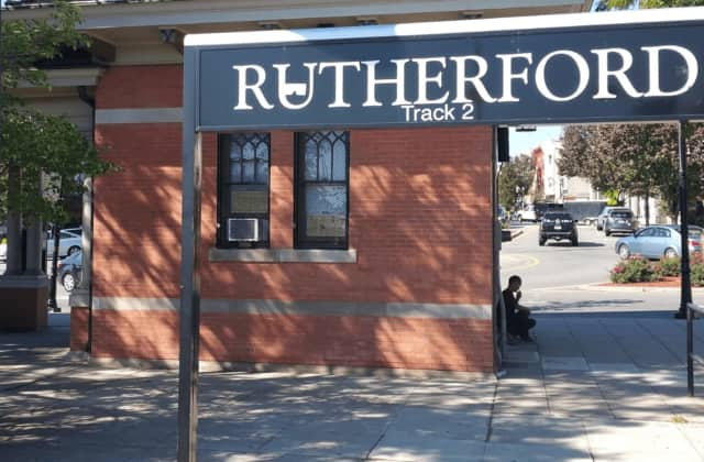 Rutherford train station.