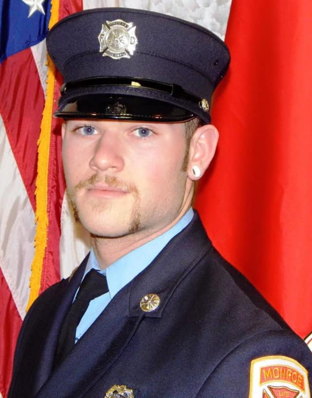 Monroe Volunteer Fire Department firefighter Forrest Ryan, 24, was killed in a motorcycle crash Monday evening.