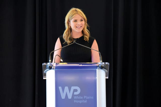Jenna Bush Hager at the Friends of White Plains Hospital Spring Luncheon. Photograph by John Vecchiolla.