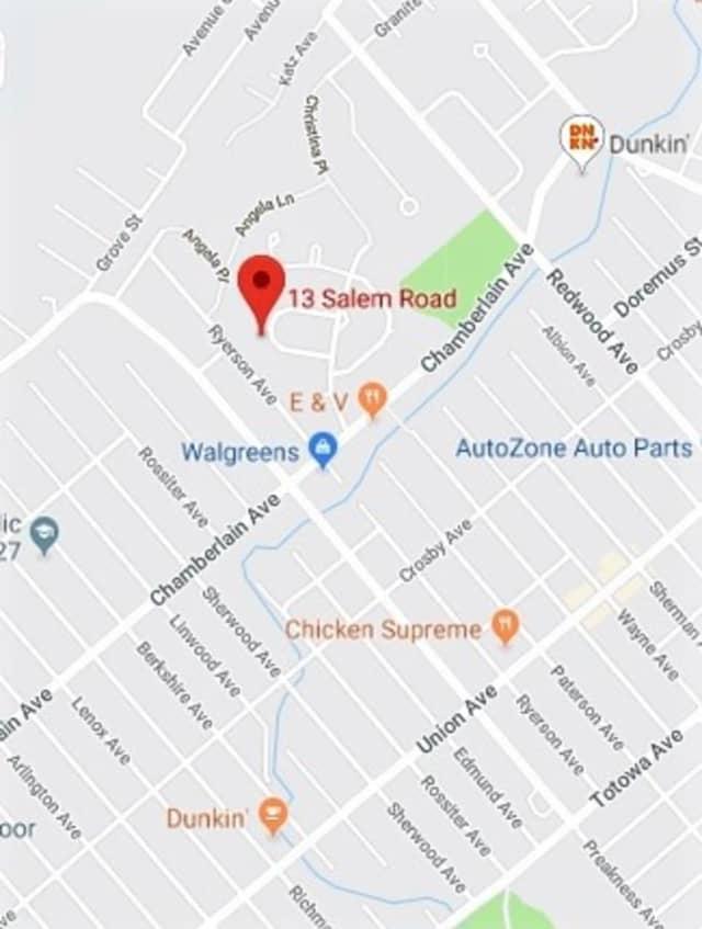 A BMW struck the victim near a bend on the U-shaped block.
