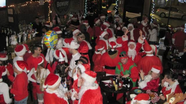 The 6th annual Santacon will come to Poughkeepsie Dec. 19.