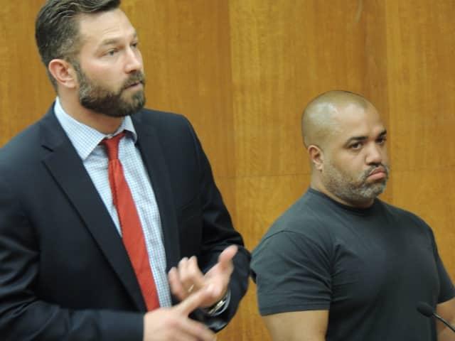 Defense attorney Adam Lustberg, George Santos