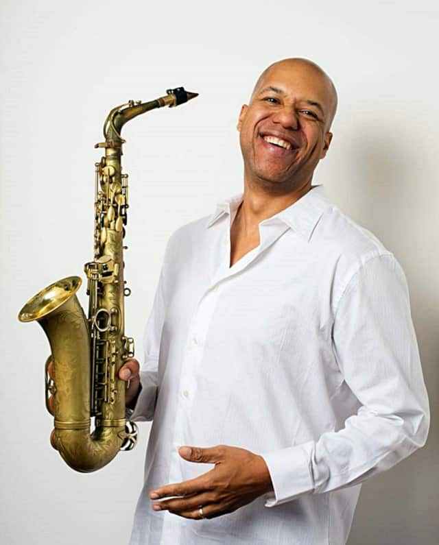 Saxophonist Shenole Latimer will give kids insight into jazz this Monday at the Johnson Public Library.