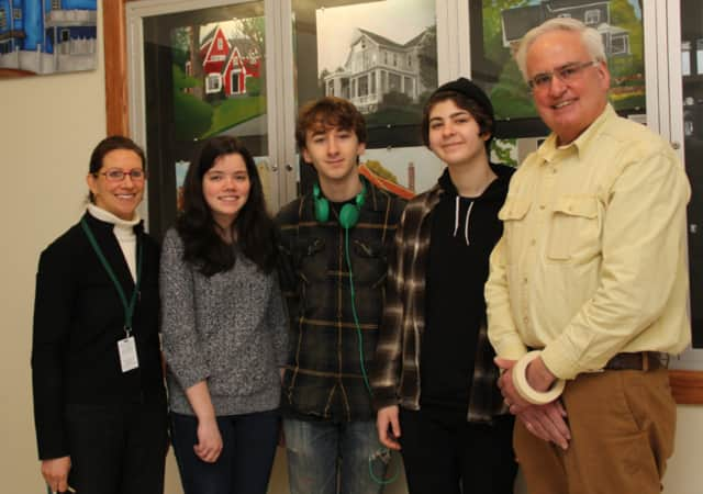 Three students from Pleasantville High School were recognized by the 2016 Scholastic Art & Writing Awards.