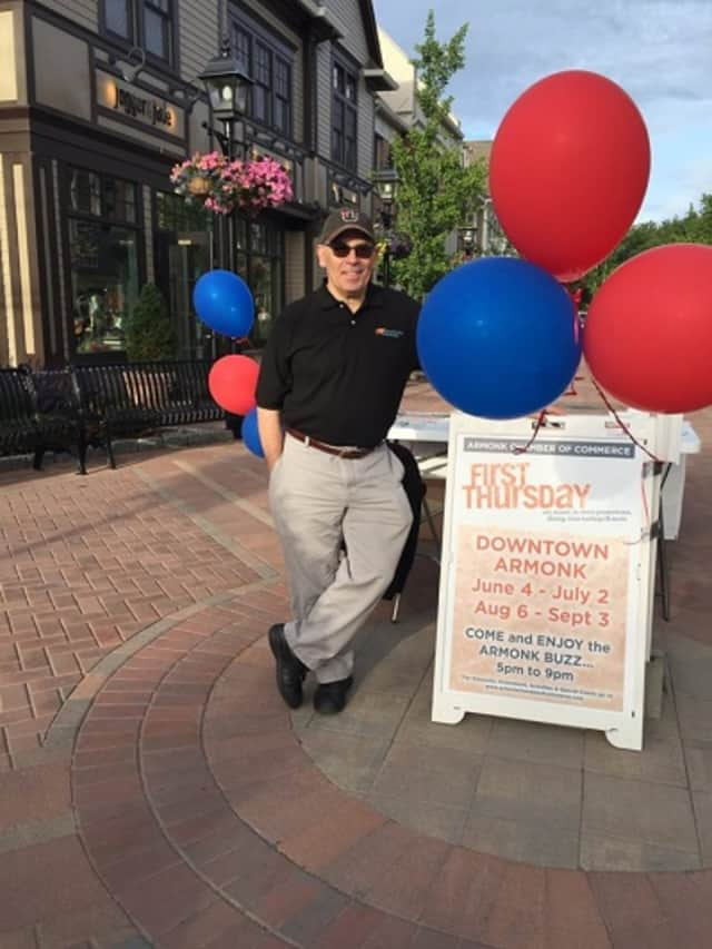 Neal Schwartz has been credited with turning the Armonk Chamber of Commerce around.