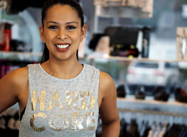 Selina Santos will lead cycling rides to benefit Go Red For Women.