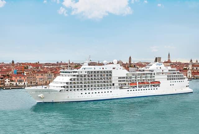The Seven Seas Navigator in Venice. Photograph courtesy of Regent Seven Seas Cruises.