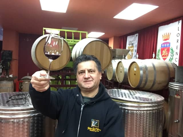 Giovanni Petretta of Shelter Rock Winery in Danbury.