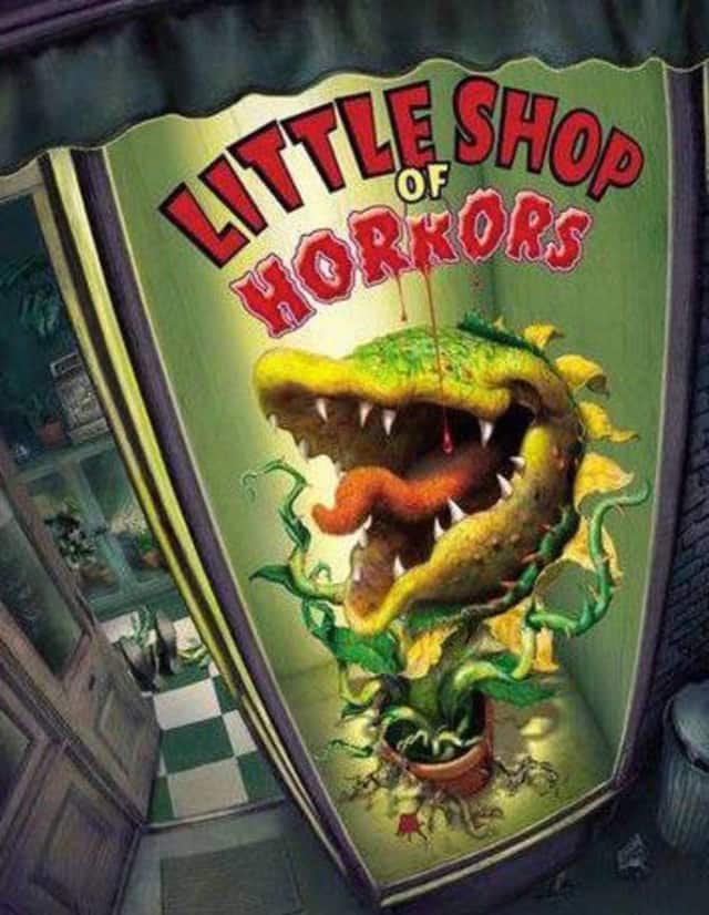 """Northern Valley Regional High School at Demarest performs """"Little Shop of Horrors"""" later in February."""