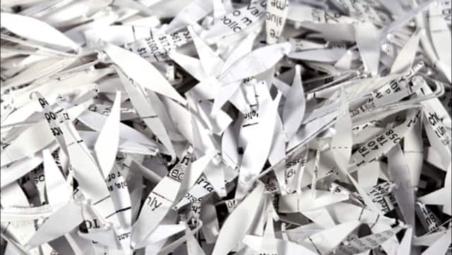 North Arlington is holding a paper shredding event May 21.