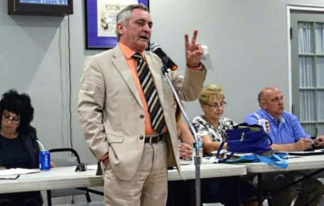 Former Pompton Lakes Mayor Jack Sinsimer
