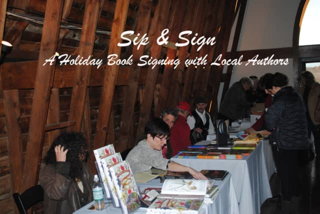 The sixth annual Sip & Sign takes place Nov. 14 at Millbrook Vineyards & Winery.